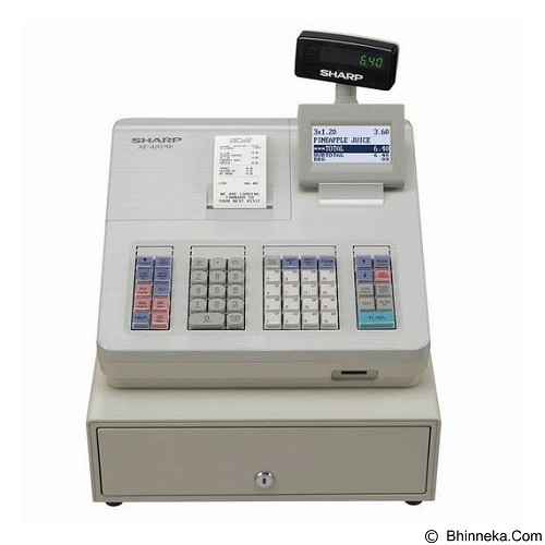 SHARP Mesin Kasir [XE-207] (Merchant) - Cash Register