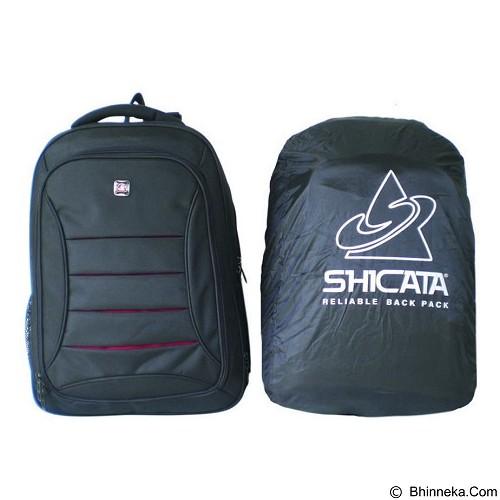 SHICATA Tas Ransel Laptop Raincoat [8-2754] - Hitam (Merchant) - Notebook Backpack