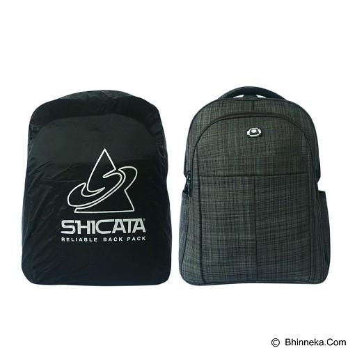 SHICATA Tas Ransel Laptop Raincoat [8-2982a] - Hitam (Merchant) - Notebook Backpack