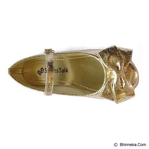 SHOESTALK Charlotte III Size 28 - Shiny Gold - Sepatu Anak