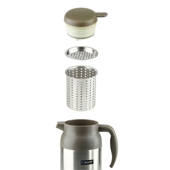 SHUMA S/S Vacuum Coffee Pot 1.6L 1600Y - Kendi / Pitcher / Jug