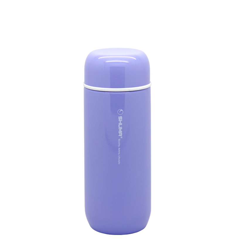 SHUMA S/S Vacuum Mini Tumbler 200ml - Purple - Botol Minum