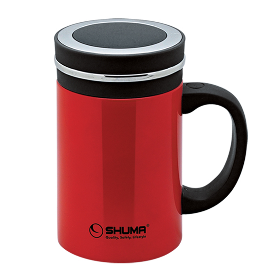 SHUMA S/S Vacuum Mug 500ml - Red - Gelas
