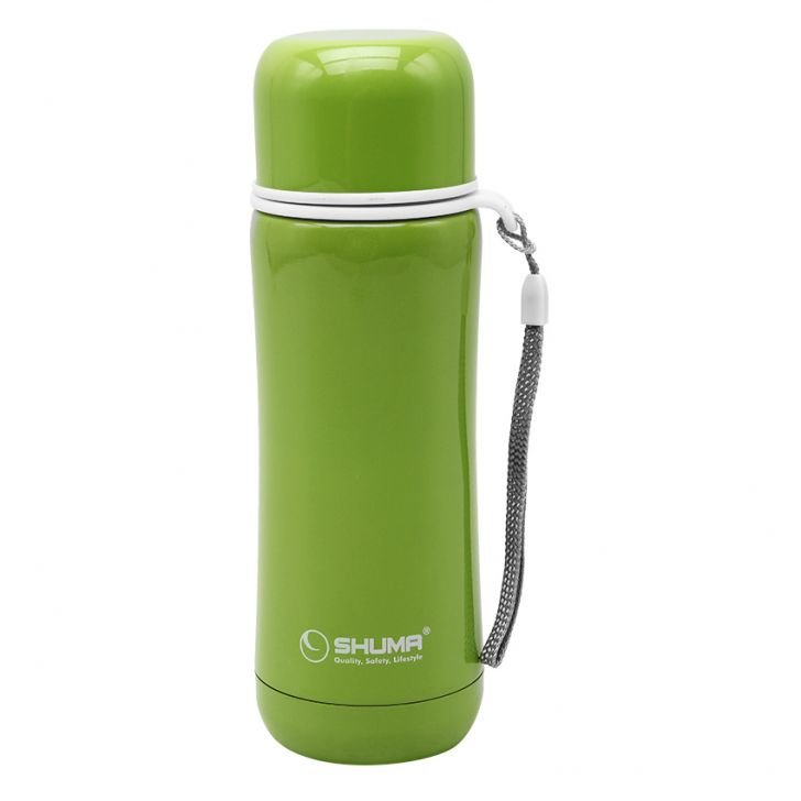 SHUMA S/S Vacuum Sport Bottle HD 280ml - Green - Botol Minum