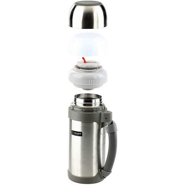 SHUMA S/S Vacuum Wide Mouth Flask 1.2L - Botol Minum