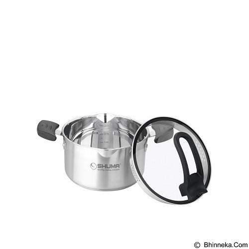 SHUMA Stainless Steel Dutch Oven Elena - 20 cm 3.0 L - Panci