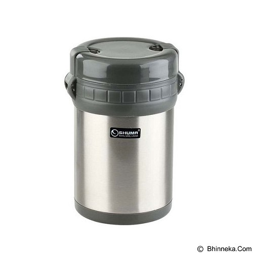SHUMA Vacuum Lunch Box 1000ml - Grey - Lunch Box / Kotak Makan / Rantang