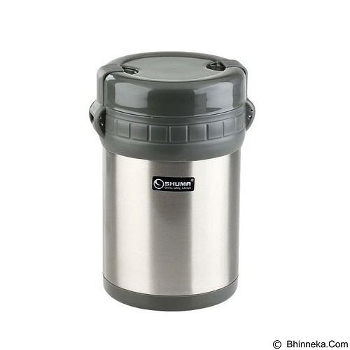 SHUMA Vacuum Lunch Box 1000ml - Grey - Lunch Box / Kotak Makan / Rantang