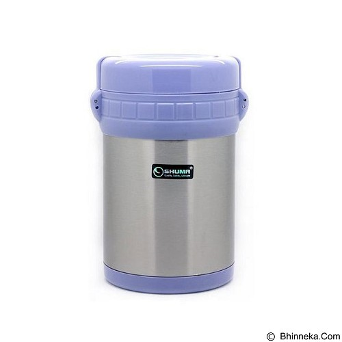 SHUMA Vacuum Lunch Box 1500ml - Blue - Lunch Box / Kotak Makan / Rantang