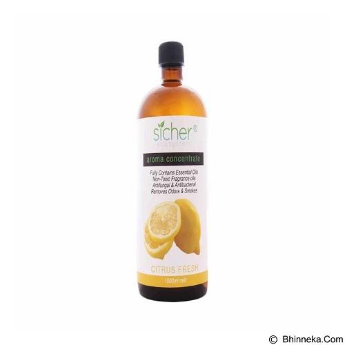 SICHER ECOSYSTEM Aromatic Fragrance Citrus 1000 ml [SA 103] (Merchant) - Aromatherapy / Lilin Terapi