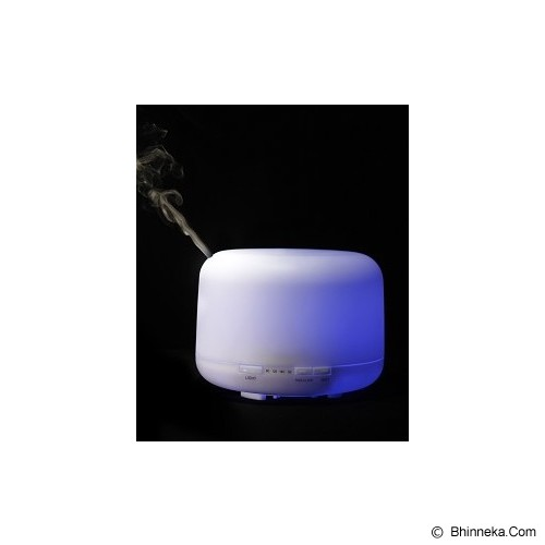 SICHER ECOSYSTEM Round Ultrasonic Aroma Diffuser [LM-168] - White - Air Humidifier