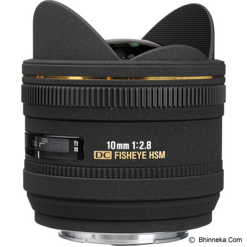 SIGMA 10mm f/2.8 EX DC HSM FISHEYE for Nikon - Camera Slr Lens