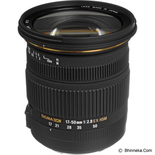 SIGMA 17-50mm f/2.8 EX DC OS HSM for Canon (Merchant) - Camera Slr Lens