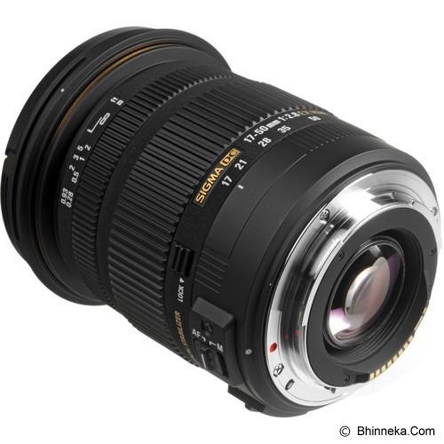 SIGMA 17-50mm f/2.8 EX DC OS HSM for Canon (Merchant) - Camera Slr Lens