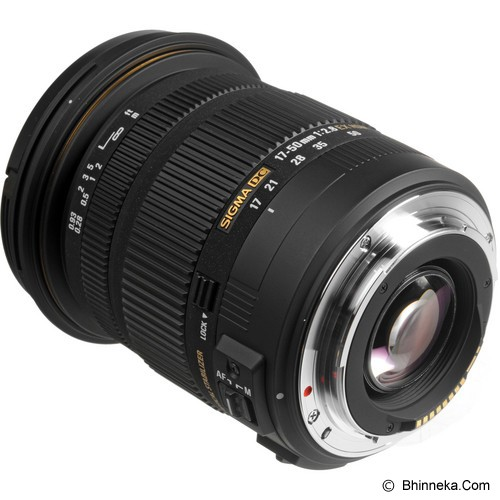 SIGMA 17-50mm f/2.8 EX DC OS HSM for Canon - Camera Slr Lens