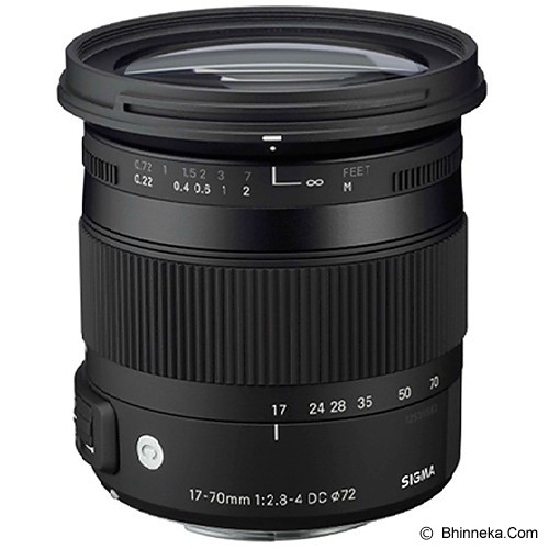 SIGMA 17-70mm f/2.8-4 DC MACRO OS HSM for Nikon - Camera Slr Lens