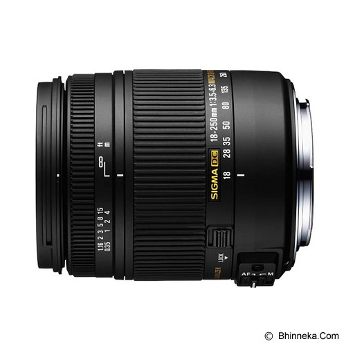 SIGMA 18-250mm F3.5-6.3 DC Macro OS HSM for Canon - Camera Slr Lens