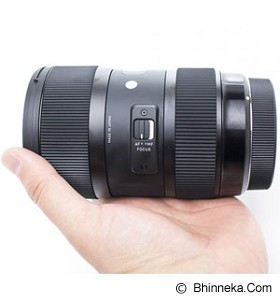 SIGMA 18-35mm f/1.8 DC HSM for Canon - Camera Slr Lens