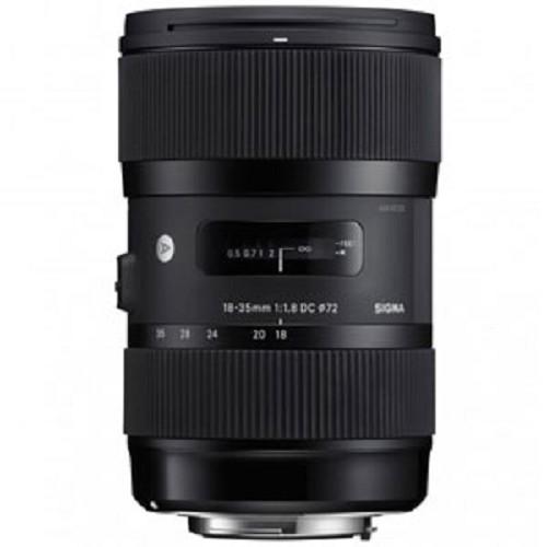 SIGMA 18-35mm f/1.8 DC HSM for Nikon - Camera SLR Lens