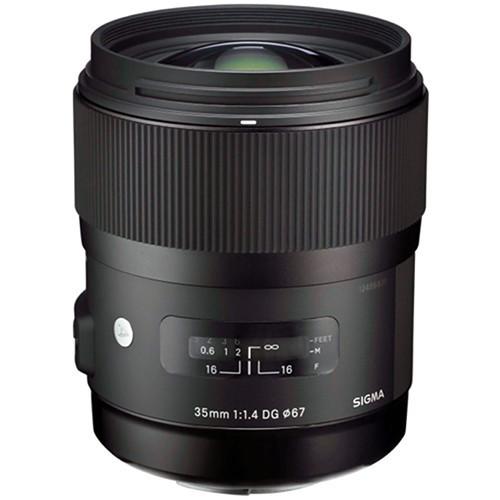 SIGMA 35mm f/1.4 DG HSM for Canon - Camera Slr Lens