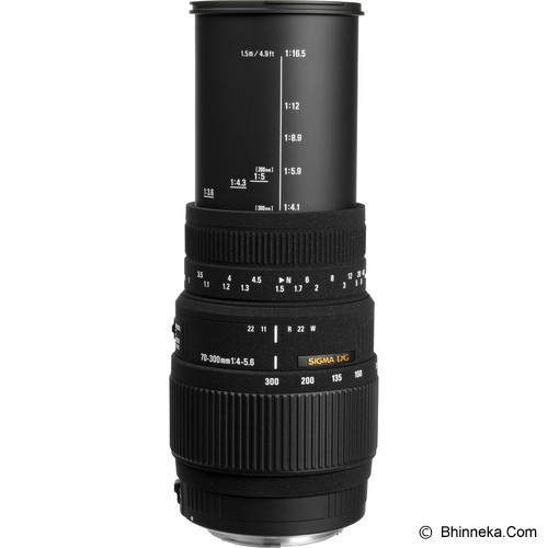 SIGMA 70-300mm f/4-5.6 DG MACRO for Canon - Camera Slr Lens