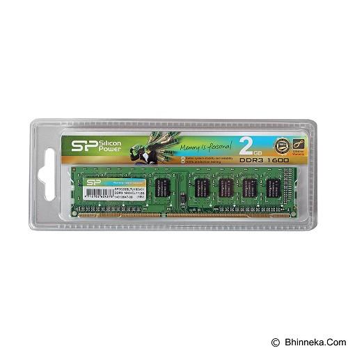 SILICON POWER Memory PC 1 x 2GB UDIMM DDR3L 1600 CL11 - Memory Desktop Ddr3