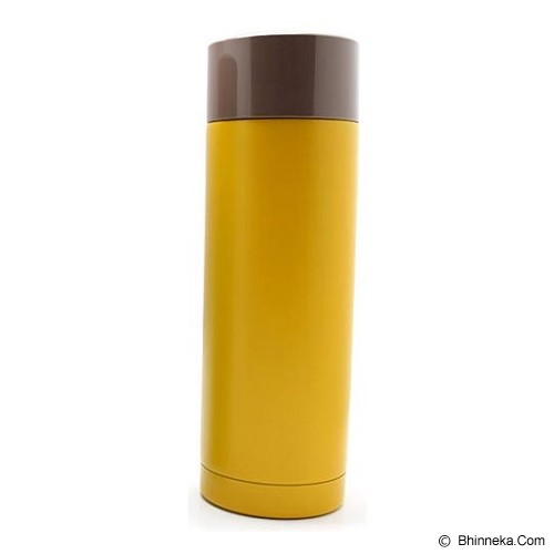 SKATER Stainless Steel Bottle [SMB3] - Yellow - Botol Minum