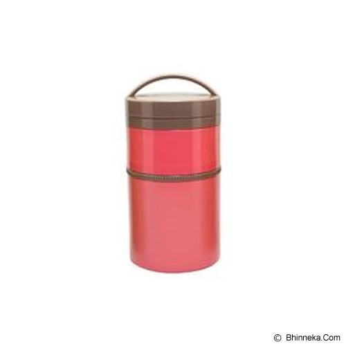 SKATER Two Stage Stainless Thermal Lunch Jar [LJLRT4] - Red - Lunch Box / Kotak Makan / Rantang