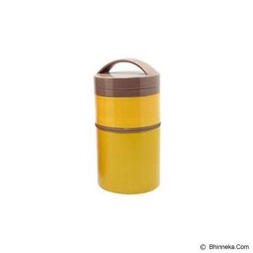 SKATER Two Stage Stainless Thermal Lunch Jar [LJLRT4] - Yellow - Lunch Box / Kotak Makan / Rantang