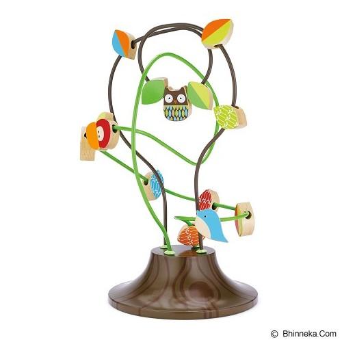 SKIP HOP TreeTop Friends Busy Bead Tree - Wooden Toy