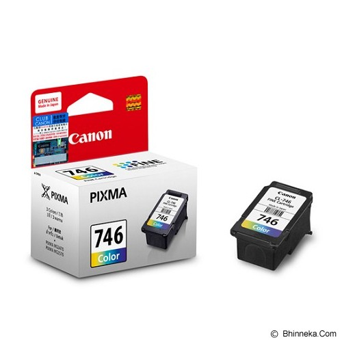 CANON Color Ink Cartridge [CL746] - Tinta Printer Canon