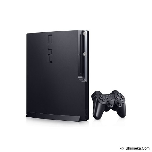 SONY Playstation 3 Slim 160GB - Black - Game Console