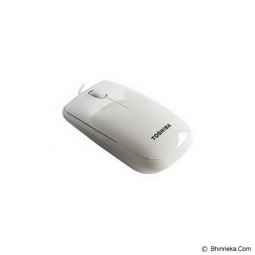 TOSHIBA Optical Mouse [U30] - White - Mouse Basic