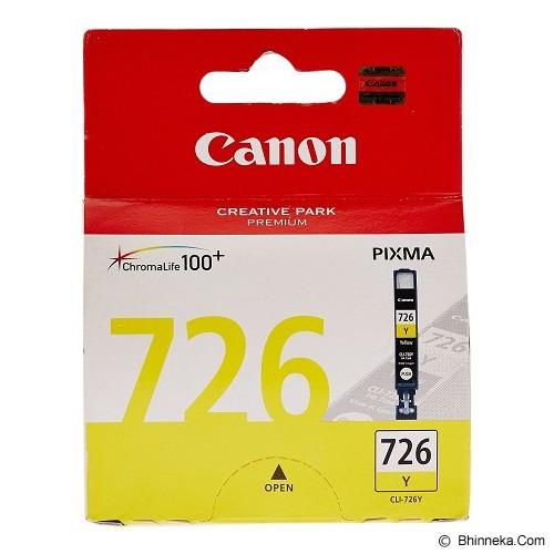 CANON Yellow Ink Cartridge [CLI726Y] - Tinta Printer Canon