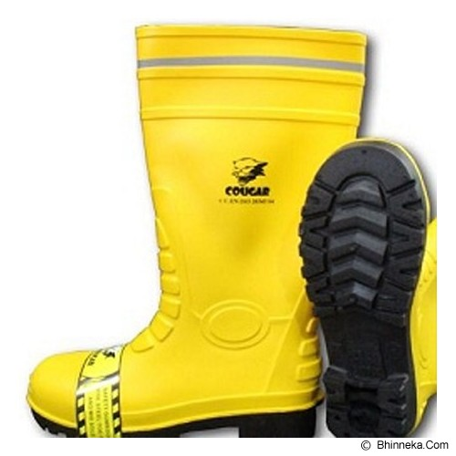 COUGAR Gumboot Yellow Size 40 - Safety Shoes / Sepatu Pengaman
