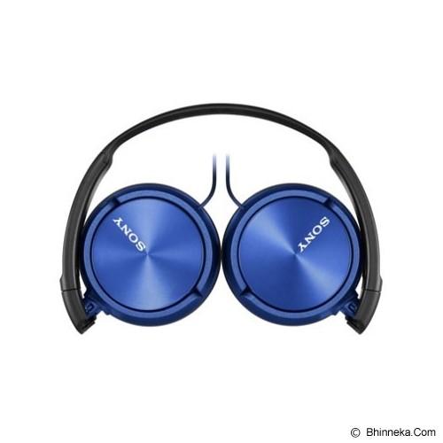 SONY Headphone [MDR ZX-310AP] - Blue - Headphone Portable