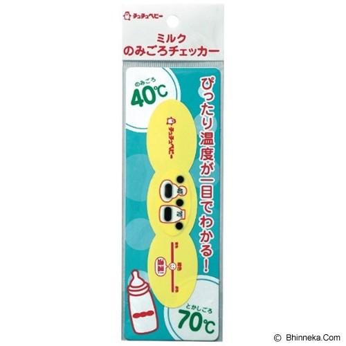 CHUCHU BABY Bottle Thermometer Sticker [4973210992280] - Aksesoris Botol Susu