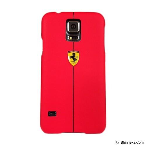 FERRARI S5 Rubber Hard Hard Case [FEFORHCS5RE] - Red - Casing Handphone / Case