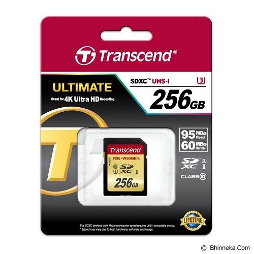 TRANSCEND SDXC 256GB [TS256GSDU3] - Secure Digital / Sd Card