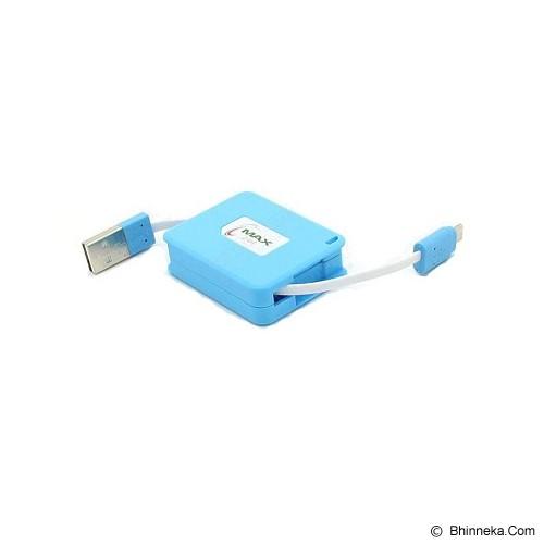 ANYLINX Cable Data Micro USB Retractable - Biru - Cable / Connector Usb
