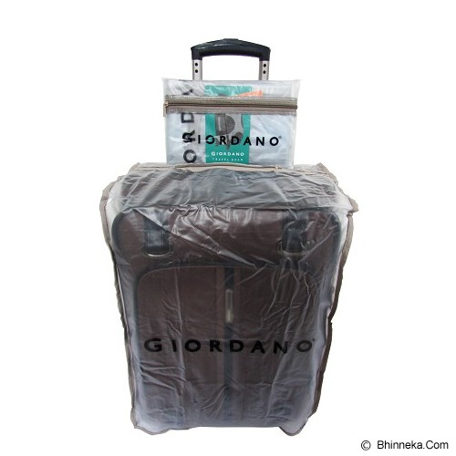 GIORDANO Luggage Cover Protection 20 inch - Clear - Cover Bag / Pelindung Tas