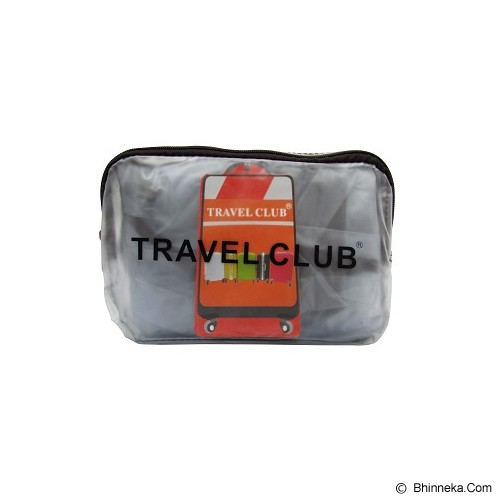 TRAVEL CLUB Luggage Cover Protection 18 inch - Clear - Cover Bag / Pelindung Tas