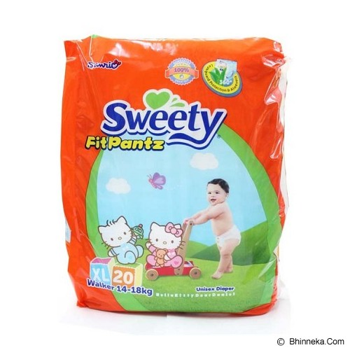 SWEETY Pants [XL20] - Disposable Diapers / Popok Sekali Pakai