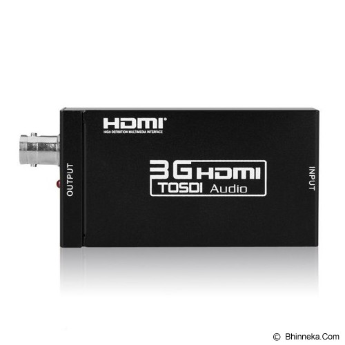 ANYLINX Converter HDMI To 3G/SDI - Hitam - Digital Video Converter