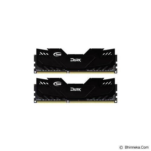 TEAM Xtreem Dark Memory PC 2x 4GB DDR3 PC3-17000 [TDKED38G2133HC10QDC01] - Memory Desktop Ddr3