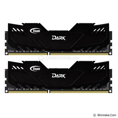 TEAM Memory PC 2x 8GB DDR3 PC3-19200 [Xtreem Dark TDKED316G2133HC10QDC01] - Memory Desktop Ddr3