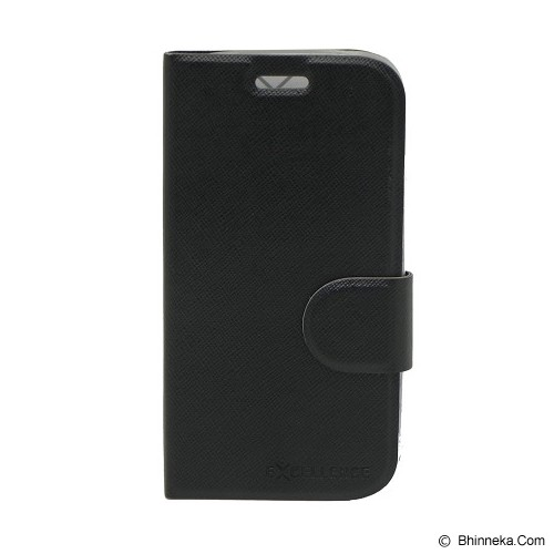 EXCELLENCE Leather Case Flip TPU Inside BB 9320 [ALCBB932FTIE] - Black - Casing Handphone / Case