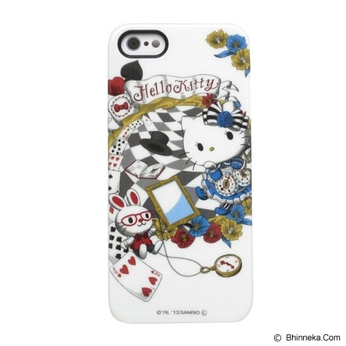 HELLO KITTY iPhone 5/5S Shell Jacket [SAN-290A] - White - Casing Handphone / Case