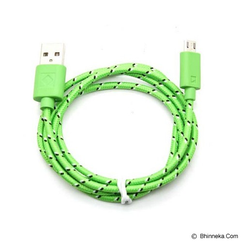 ANYLINX Cable Micro USB Net 1M - Hijau - Cable / Connector Usb