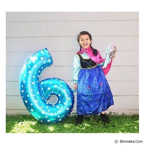 DEITY HOUSE Blue Star Number Balloon 9 36